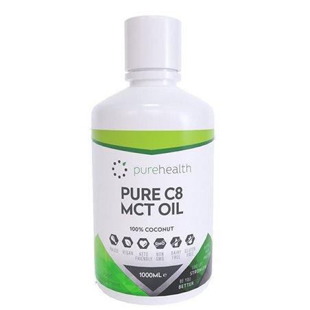 Aceite MCT C8 Puro 1000l
