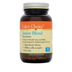 Udo´s Choice Junior Blend Microbiotics- 60 cápsulas vegetales