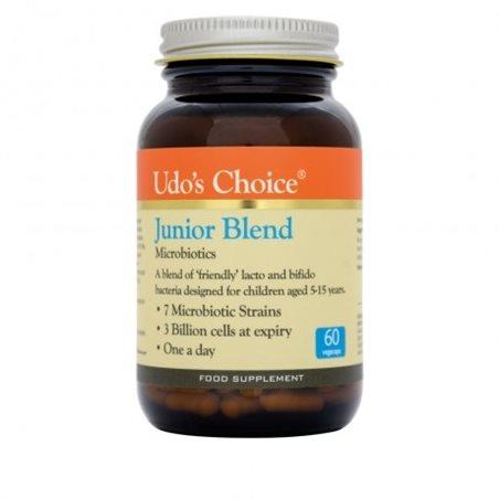 Udo´s Choice Junior Blend Microbiotics- 60 cápsulas vegetales