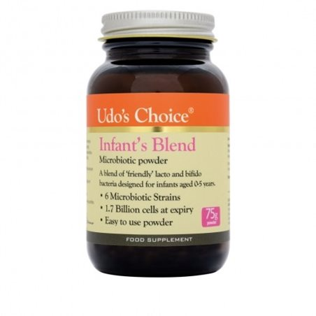 Udo´s Choice Infant´s Blend Microbiotics- 75g Polvo