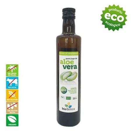 Jugo Puro de Aloe Vera Bio 500ml