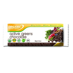 Active Greens Chocolate Barrita Bio 68g