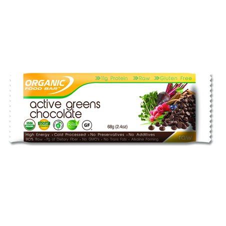 Active Greens Chocolate Barrita Bio 68g