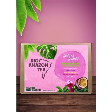 Infusión Antioxidante caja de 4 sabores x 5 bolsitas