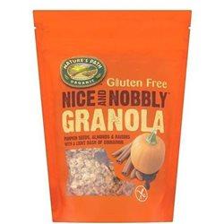 Granola de Semillas de Calabaza, Almendras y Pasas Bio 312g