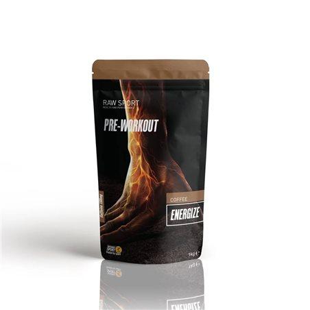 Energize Pre-Workout (Pre-entreno) Café 240g