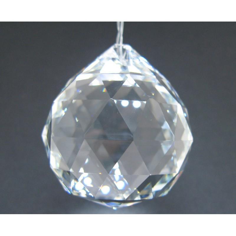 Bola de Feng Shui de Cristal Facetado 6,8cm
