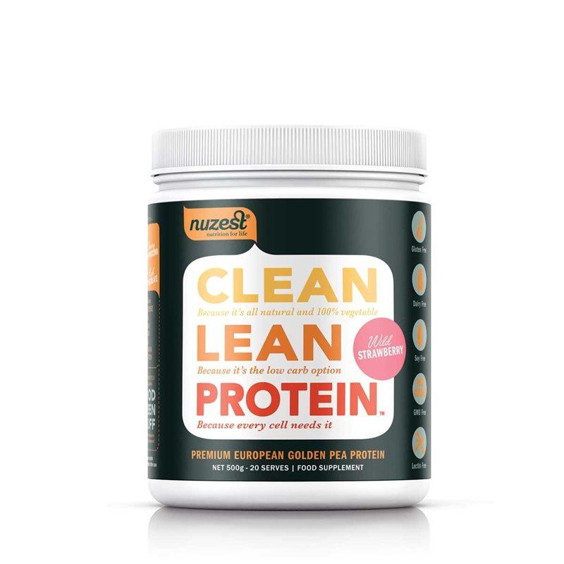 Clean Lean Proteína Fresa Silvestre 500g
