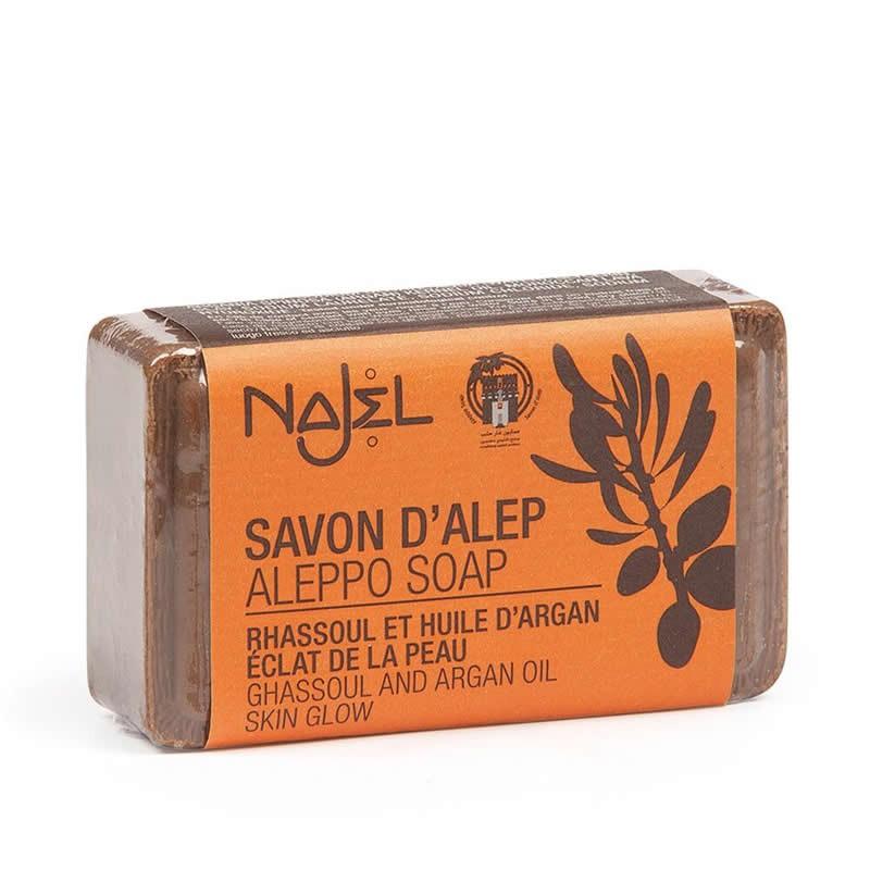 Jabón de Alepo con Rhassoul y Aceite de Argán 100g