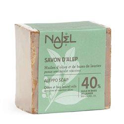 Jabón de Alepo 40% BLO 185g