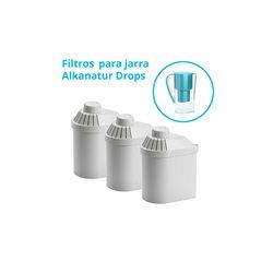 Pack 3 Filtros Jarra Alkanatur Drops (1.200l)