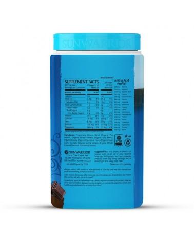 Warrior Blend Protein Chocolate Bio 750g - Composición