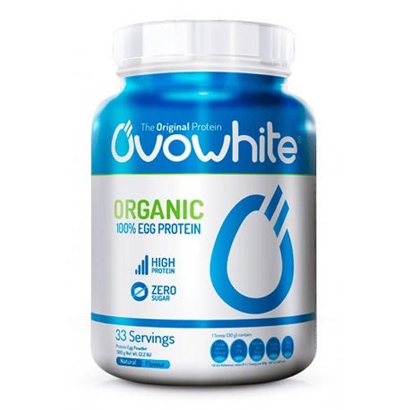 Ovowhite 100% Organic Egg Protein 453g