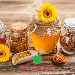 Miel, polen, própolis y jalea real